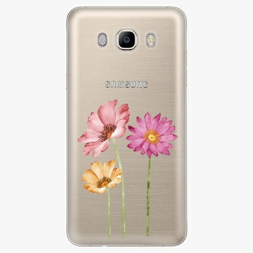 Plastový kryt iSaprio - Three Flowers - Samsung Galaxy J7 2016