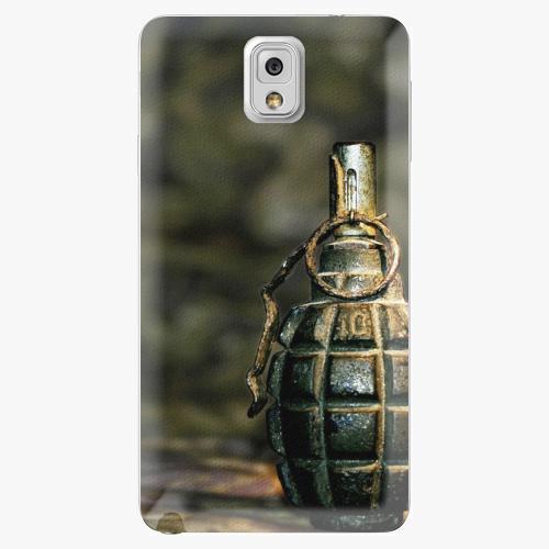 Plastový kryt iSaprio - Grenade - Samsung Galaxy Note 3