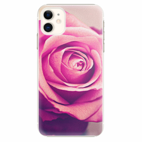 Plastový kryt iSaprio - Pink Rose - iPhone 11
