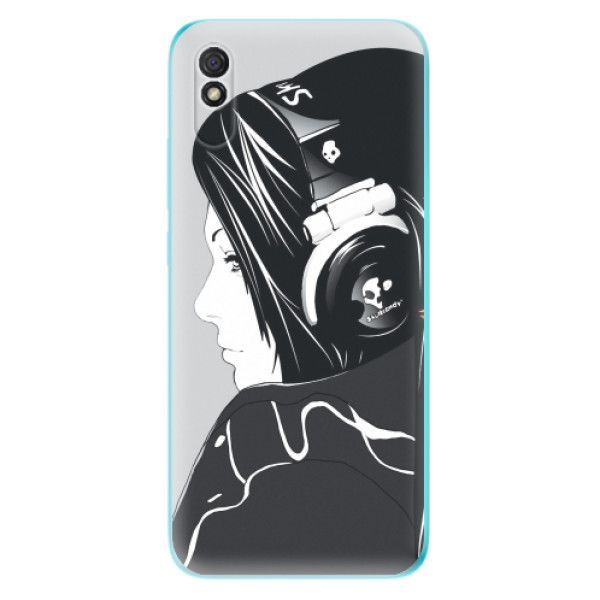 Odolné silikonové pouzdro iSaprio - Headphones - Xiaomi Redmi 9A