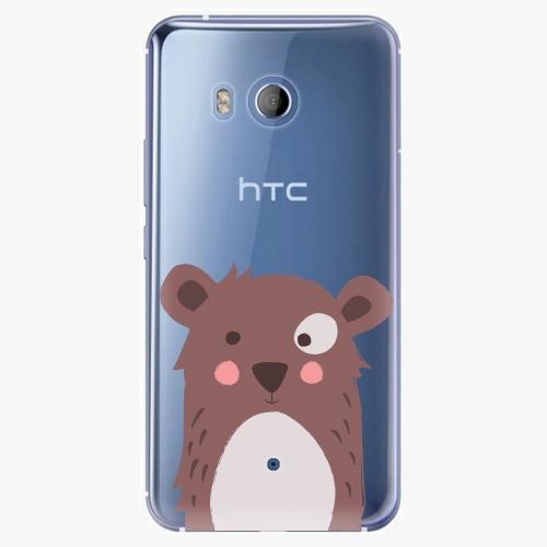 Plastový kryt iSaprio - Brown Bear - HTC U11