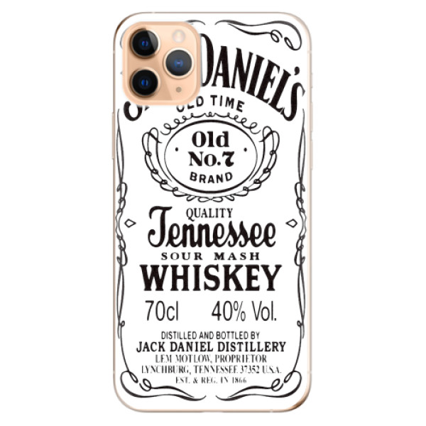 Odolné silikonové pouzdro iSaprio - Jack White - iPhone 11 Pro Max