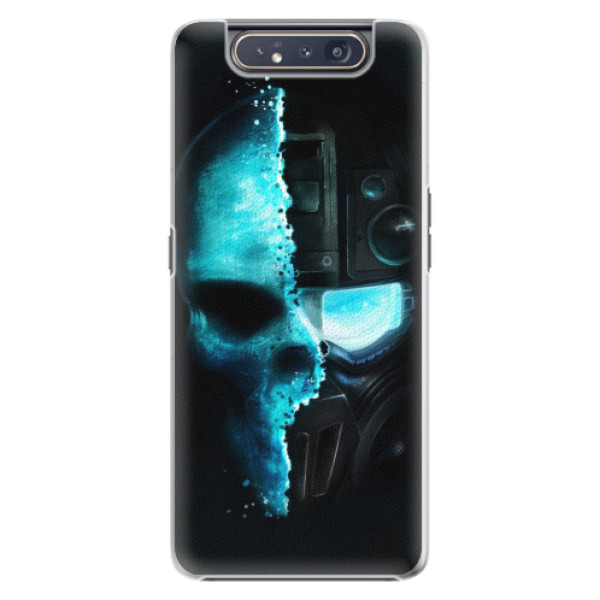 Plastové pouzdro iSaprio - Roboskull - Samsung Galaxy A80
