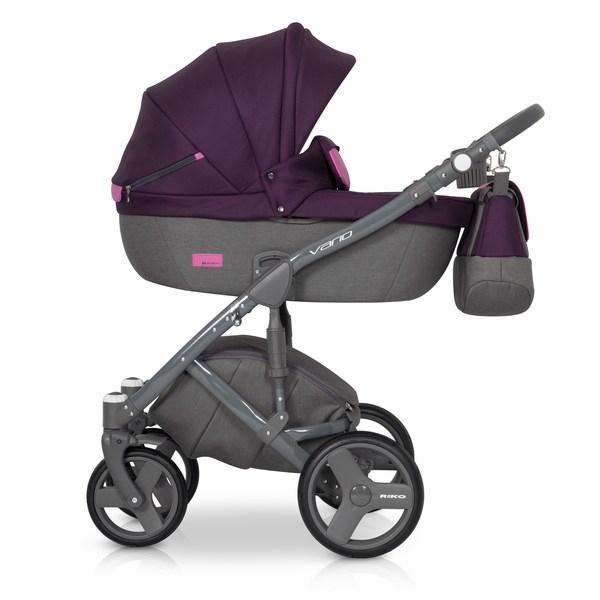 Kočárek Riko Vario 2v1, 2018 - purple