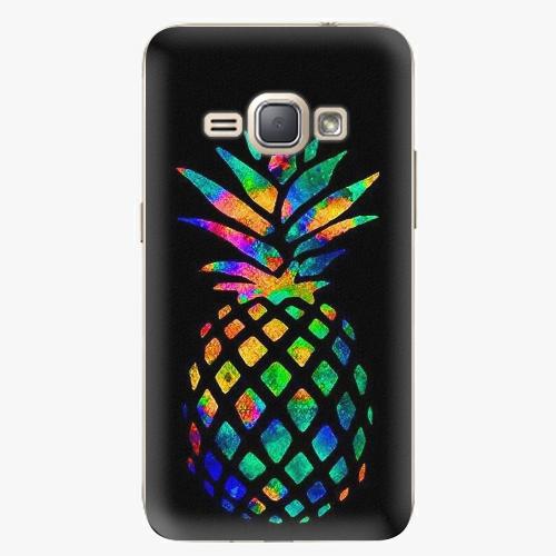 Plastový kryt iSaprio - Rainbow Pineapple - Samsung Galaxy J1 2016