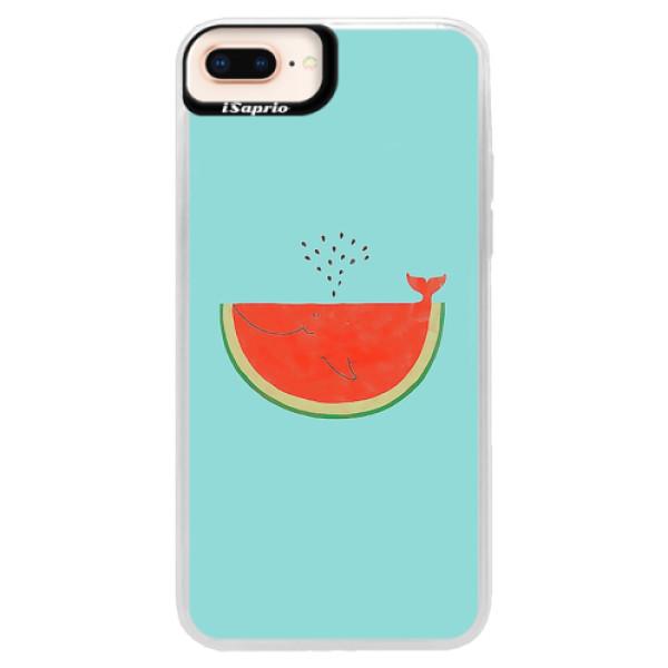 Neonové pouzdro Pink iSaprio - Melon - iPhone 8 Plus