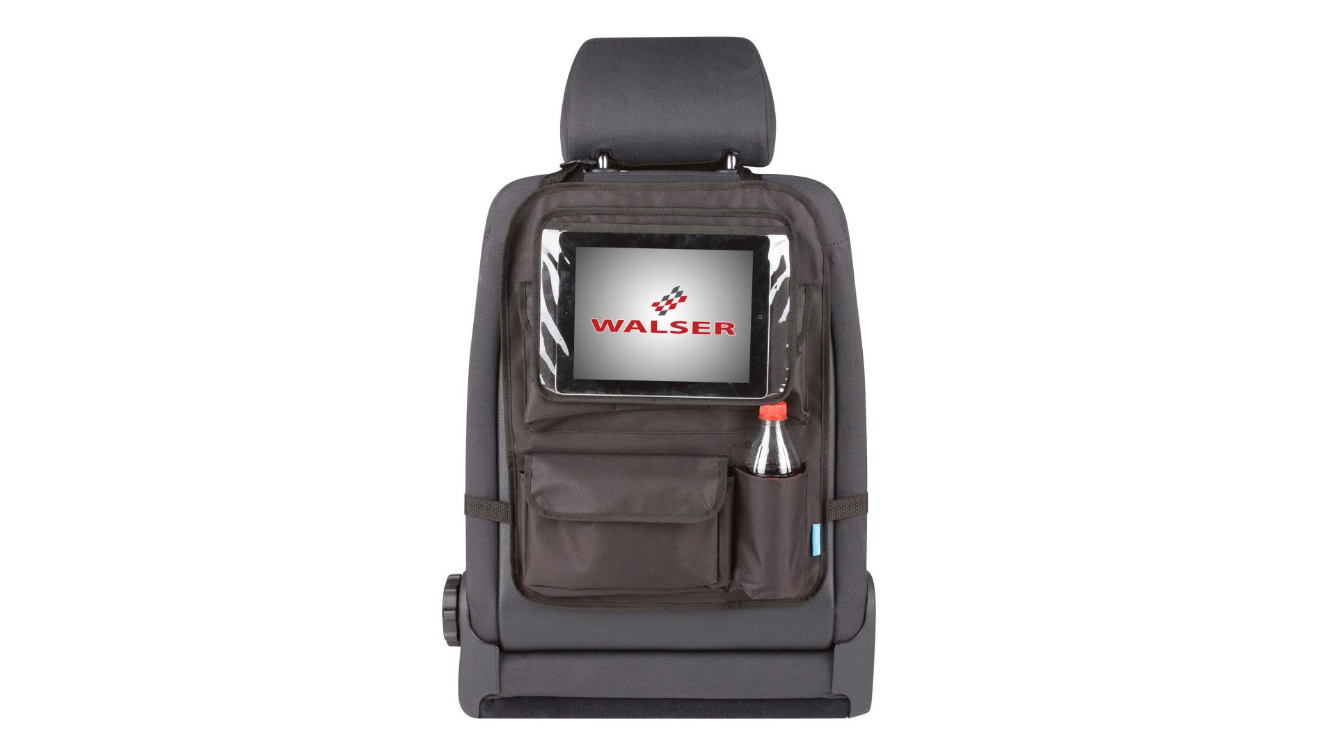 Walser Organizer Maxi with removable tablet holder black