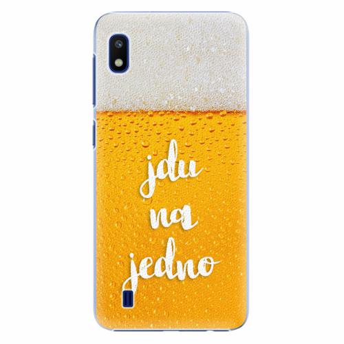 Plastový kryt iSaprio - Jdu na jedno - Samsung Galaxy A10