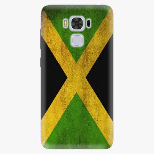 Plastový kryt iSaprio - Flag of Jamaica - Asus ZenFone 3 Max ZC553KL