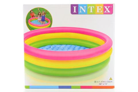 INTEX Bazén duha 147 x 33 cm 57422