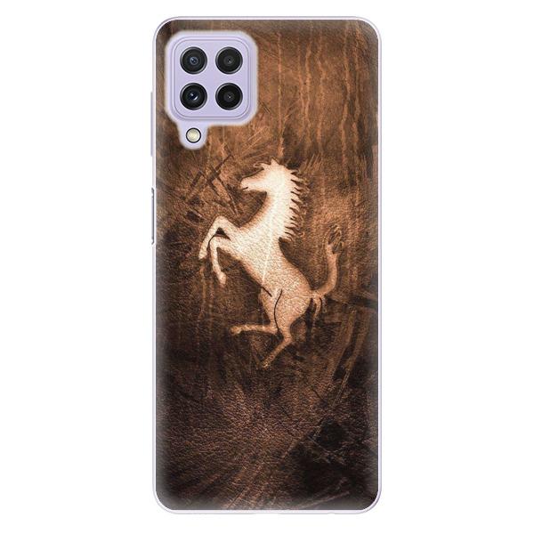 Odolné silikonové pouzdro iSaprio - Vintage Horse - Samsung Galaxy A22
