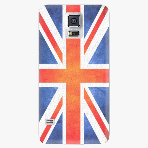 Plastový kryt iSaprio - UK Flag - Samsung Galaxy S5
