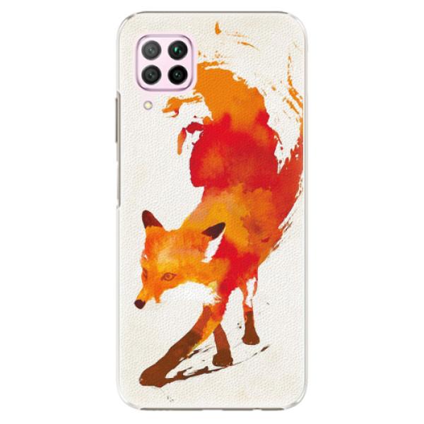 Plastové pouzdro iSaprio - Fast Fox - Huawei P40 Lite