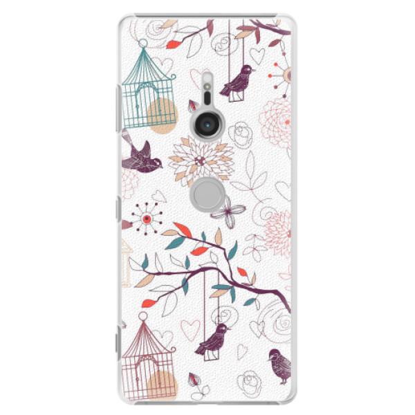Plastové pouzdro iSaprio - Birds - Sony Xperia XZ3