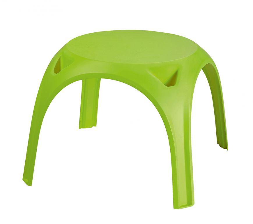 Dětský plastový stolek KIDS TABLE- světle zelený
