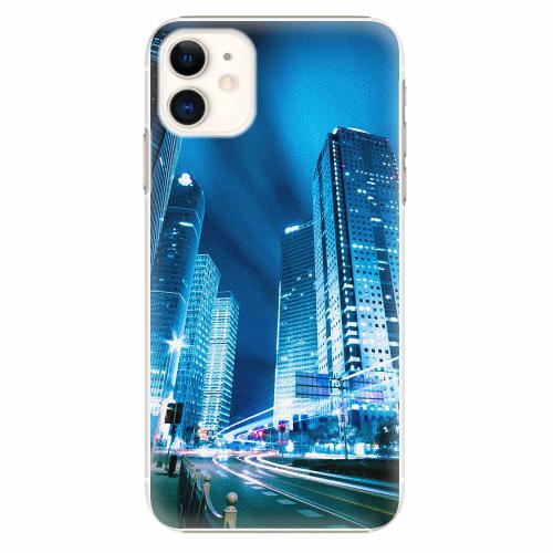 Plastový kryt iSaprio - Night City Blue - iPhone 11
