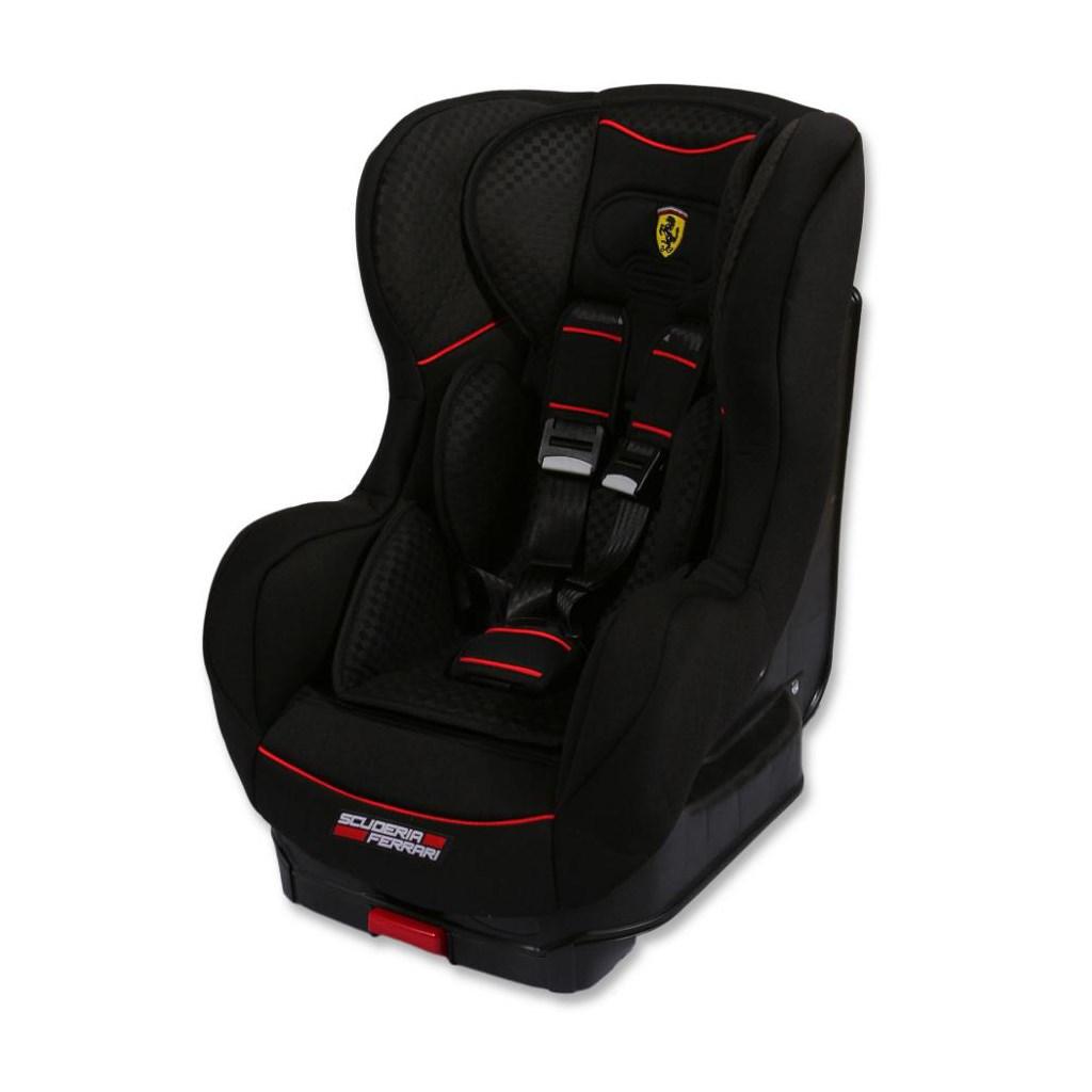 Autosedačka Cosmo Sp Isofix Ferrari Gran Tourismo Black 2016 - černá