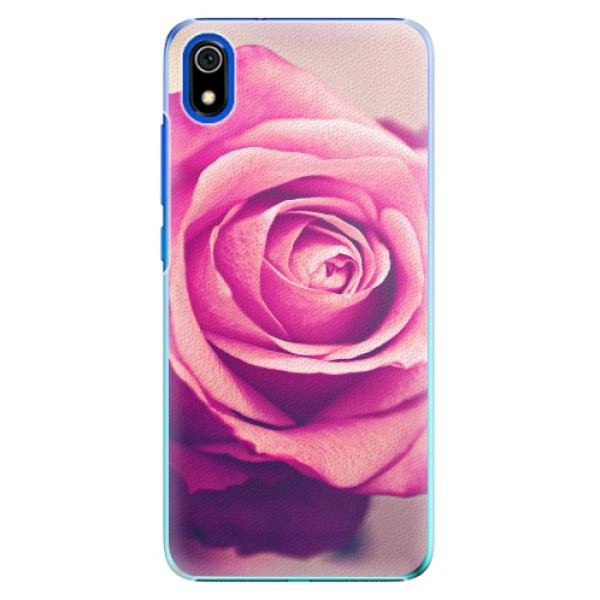 Plastové pouzdro iSaprio - Pink Rose - Xiaomi Redmi 7A