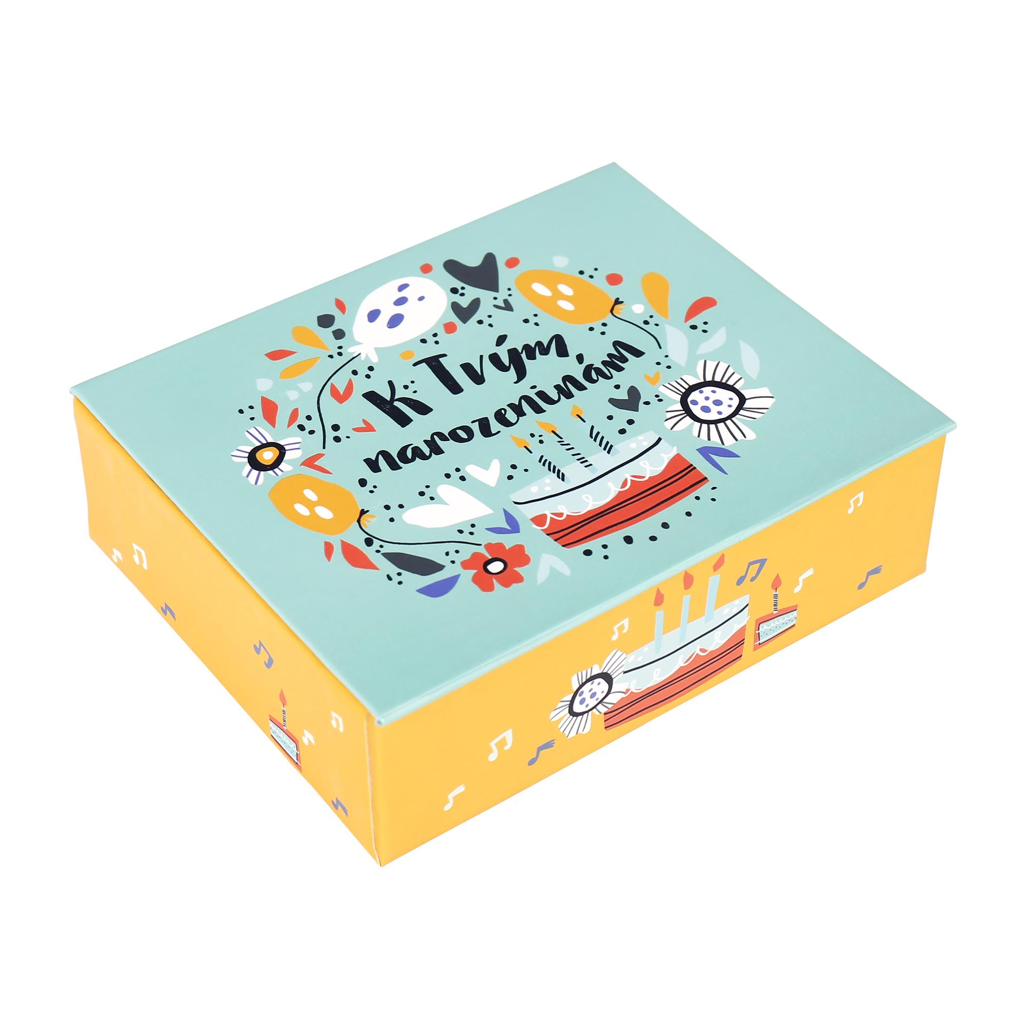 Hrací krabička - Dort