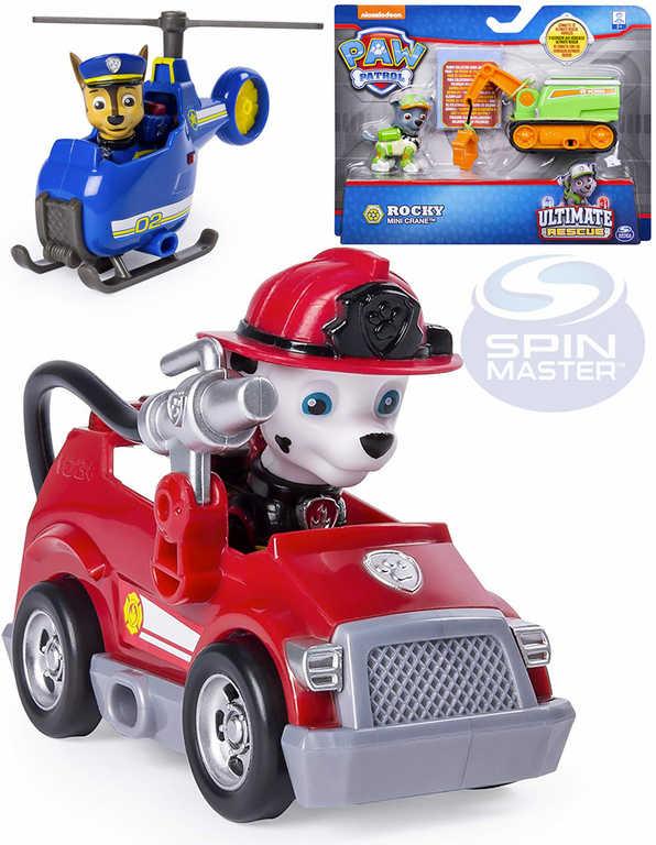 SPIN MASTER Paw Patrol set vozidlo + figurka Tlapková patrola - 6 druhů
