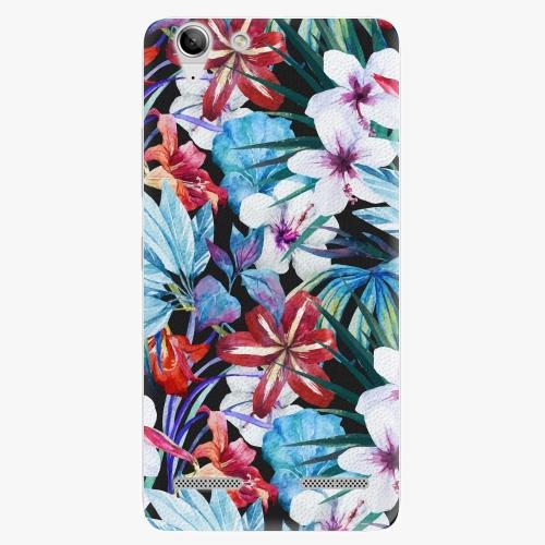 Plastový kryt iSaprio - Tropical Flowers 05 - Lenovo Vibe K5