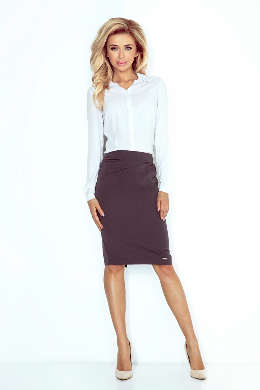 Dámská sukně model 84838 - Morimia - Antracitová/XL