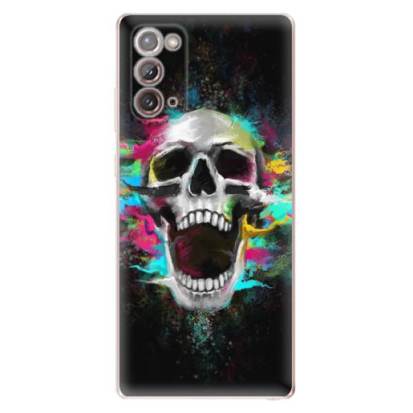 Odolné silikonové pouzdro iSaprio - Skull in Colors - Samsung Galaxy Note 20