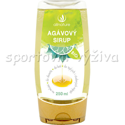 Allnature BIO Agávový sirup natural 350g