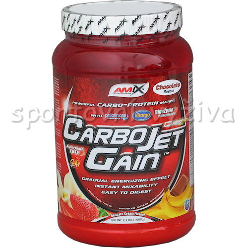 CarboJet Gain - 1000g-banana