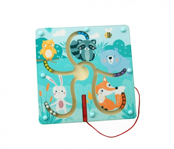 Adam toys Magnetický labyrint - Les