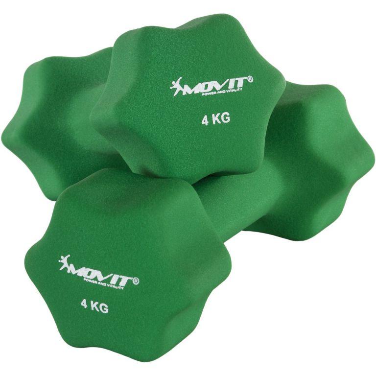 Set 2 činek s neoprenovým potahem 4 kg MOVIT