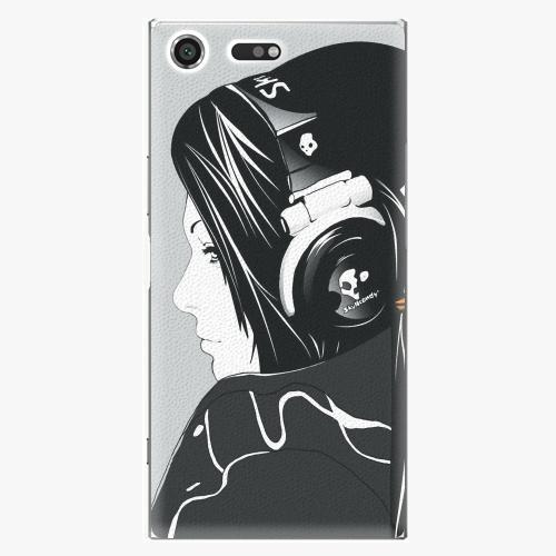 Plastový kryt iSaprio - Headphones - Sony Xperia XZ Premium