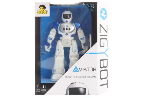 Robot Viktor modrý