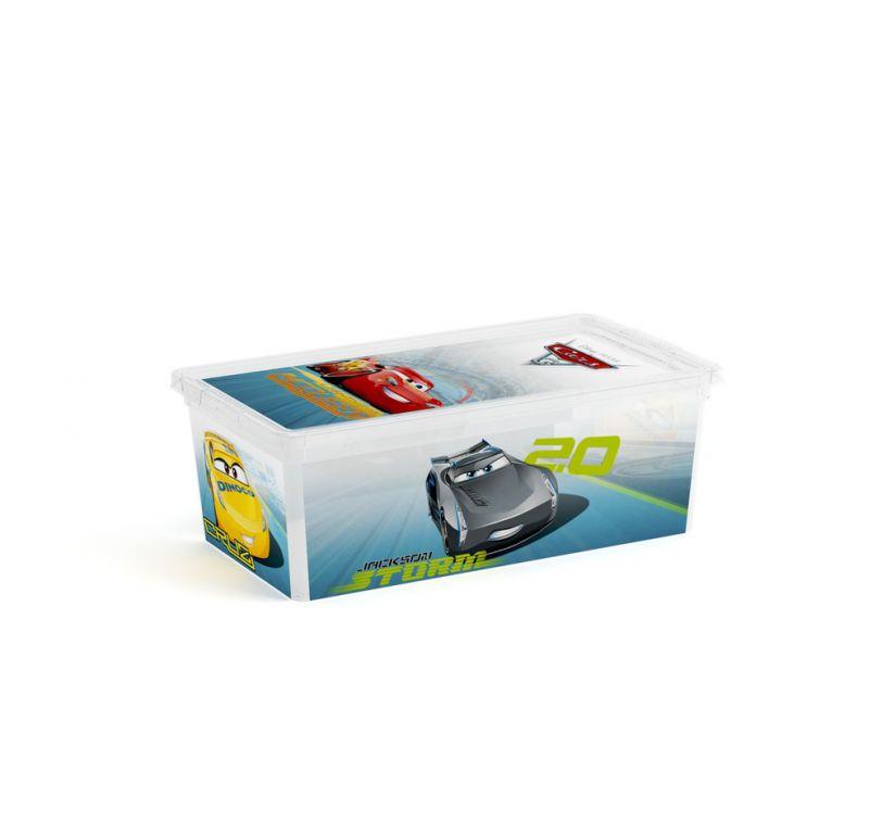 Plastový úložný box KIS C CARS - XS