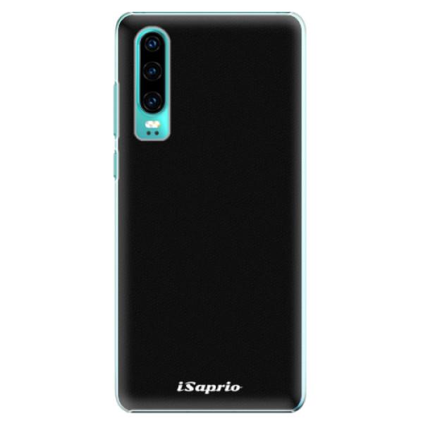 Plastové pouzdro iSaprio - 4Pure - černý - Huawei P30
