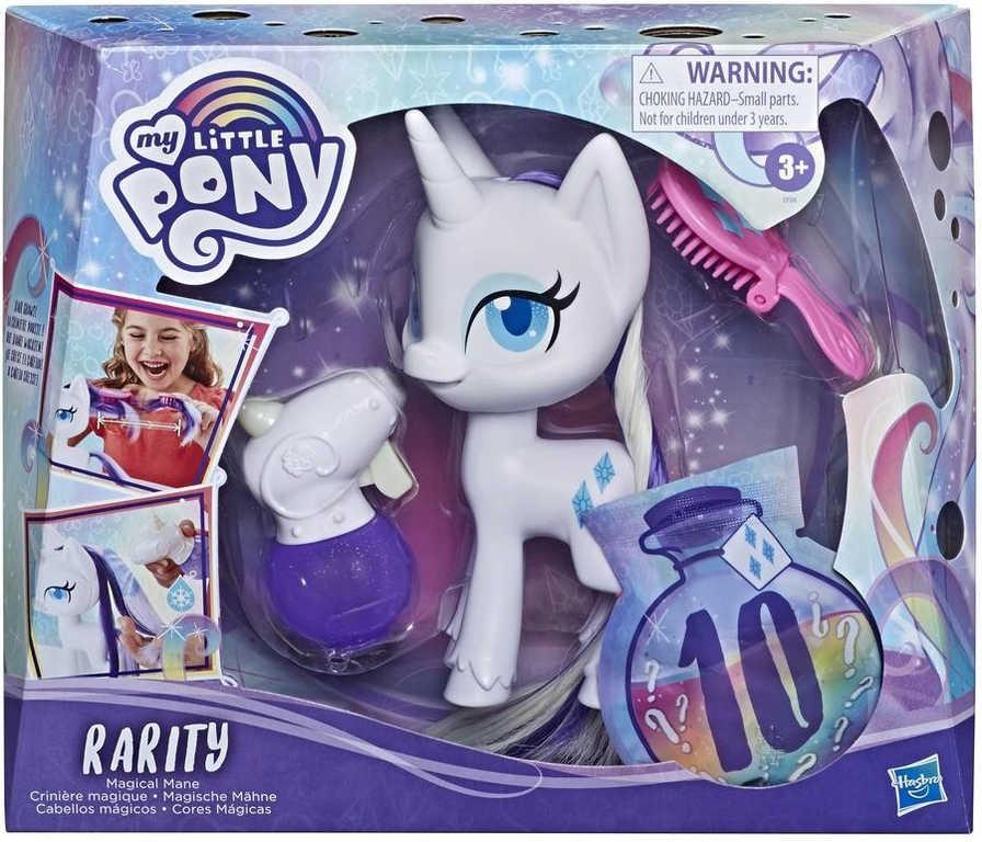 HASBRO MLP Kouzelná hříva My Little Pony koník Rarity set s doplňky
