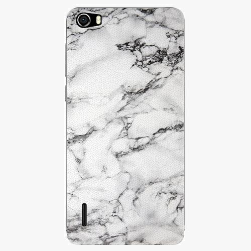 Plastový kryt iSaprio - White Marble 01 - Huawei Honor 6