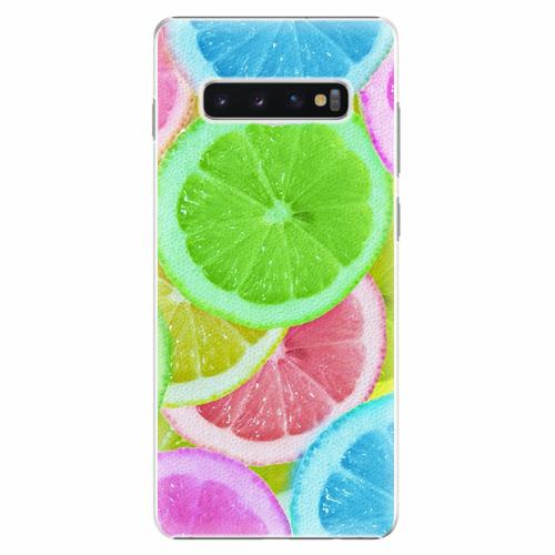 Plastový kryt iSaprio - Lemon 02 - Samsung Galaxy S10+