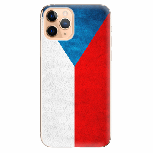 Silikonové pouzdro iSaprio - Czech Flag - iPhone 11 Pro
