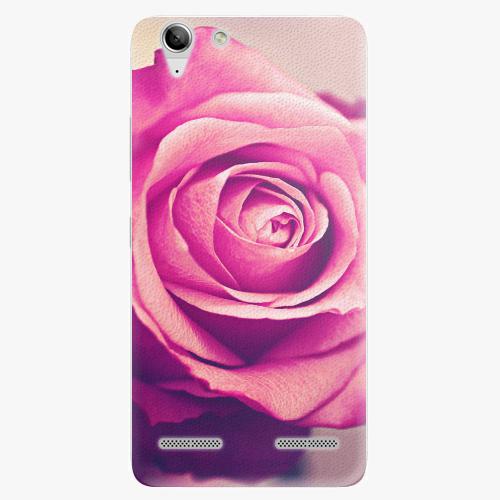 Plastový kryt iSaprio - Pink Rose - Lenovo Vibe K5