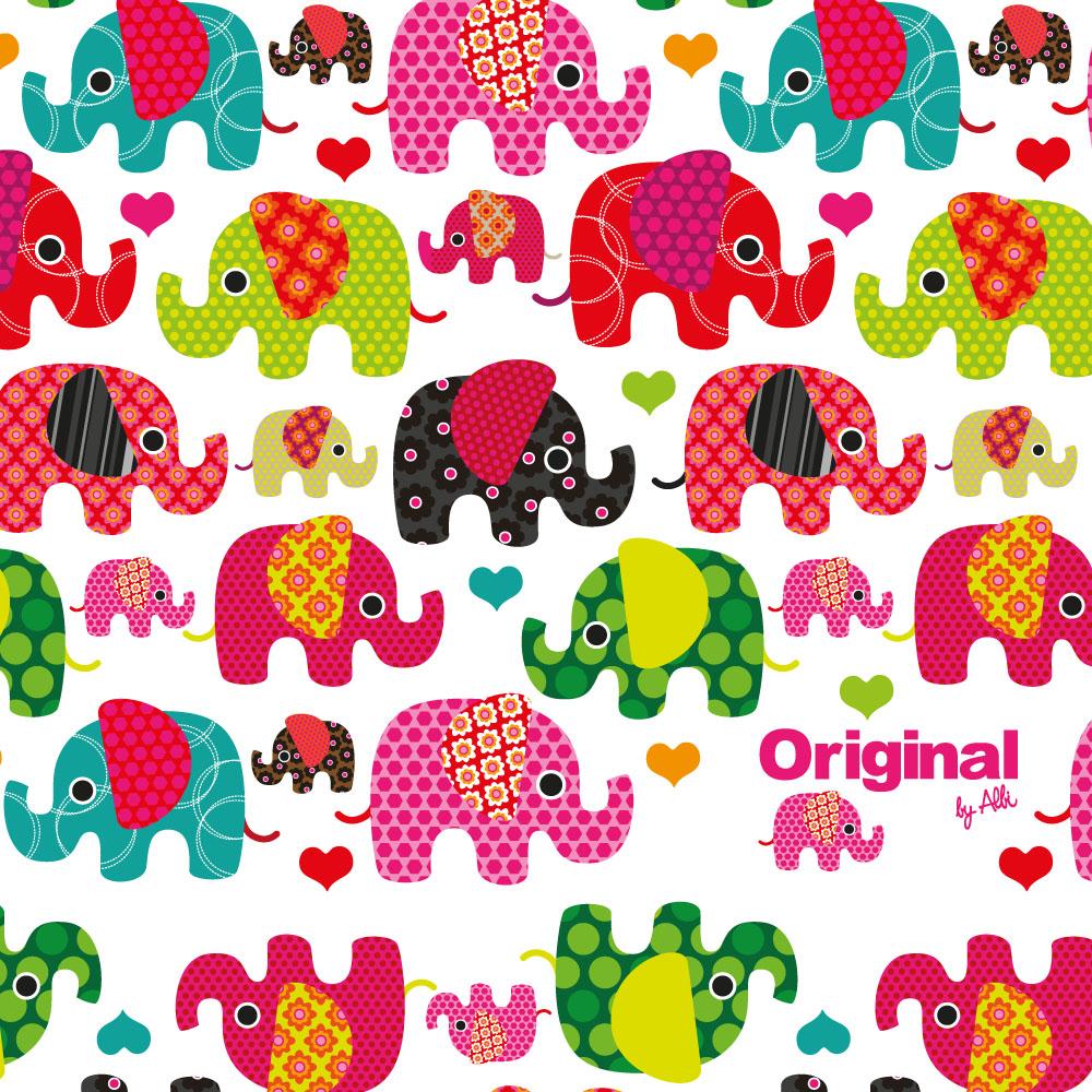 - Mini peněženka se slony
