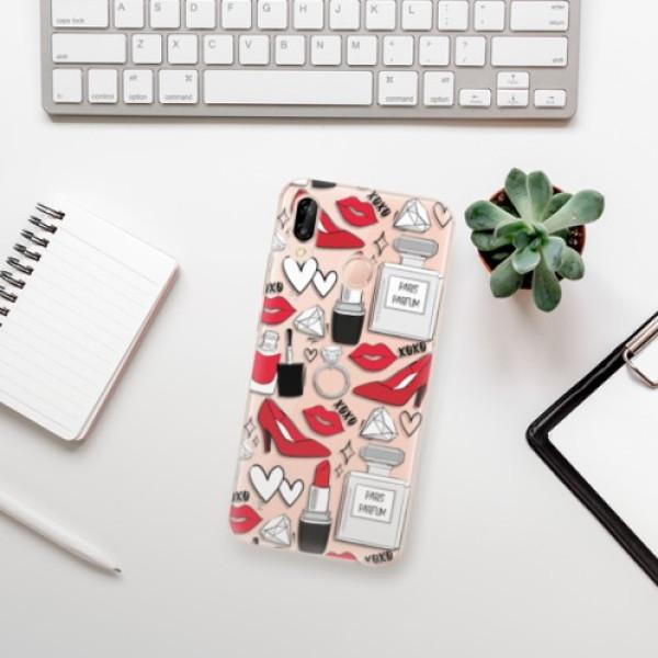 Odolné silikonové pouzdro iSaprio - Fashion pattern 03 - Huawei P20 Lite