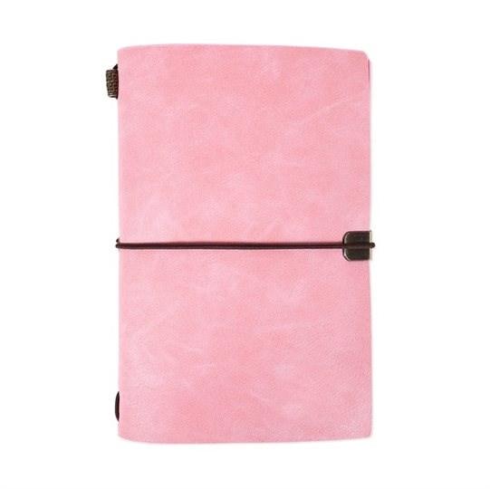 Luxusní diáře - Růžový luxusní diář