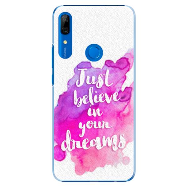 Plastové pouzdro iSaprio - Believe - Huawei P Smart Z