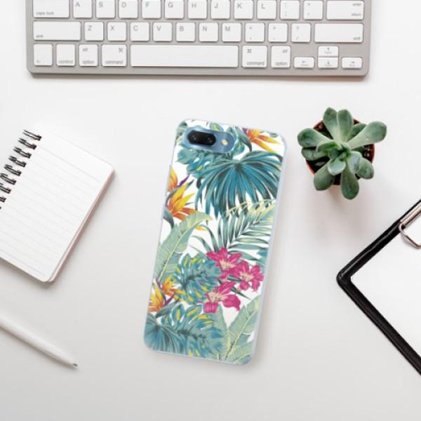Silikonové pouzdro iSaprio - Tropical White 03 - Huawei Honor 10