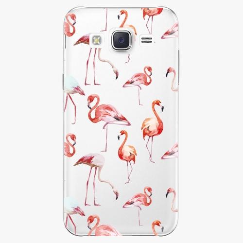 Plastový kryt iSaprio - Flami Pattern 01 - Samsung Galaxy J5