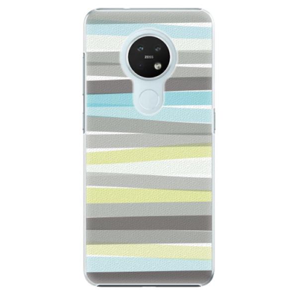 Plastové pouzdro iSaprio - Stripes - Nokia 7.2