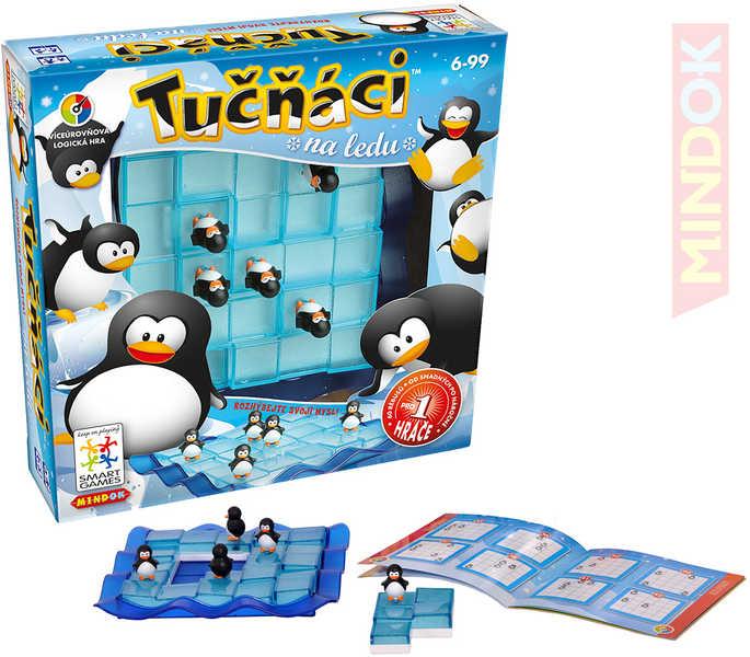 MINDOK HRA SMART Tučňáci na ledu