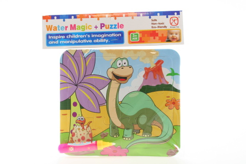 Vodní malování - Dino Brontosaurus