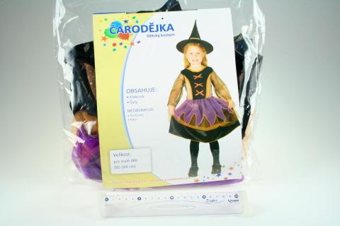Šaty Čarodějka 92-104cm